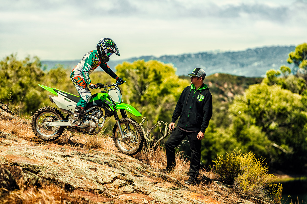 2018 Kawasaki KLX 140 in Bakersfield, California