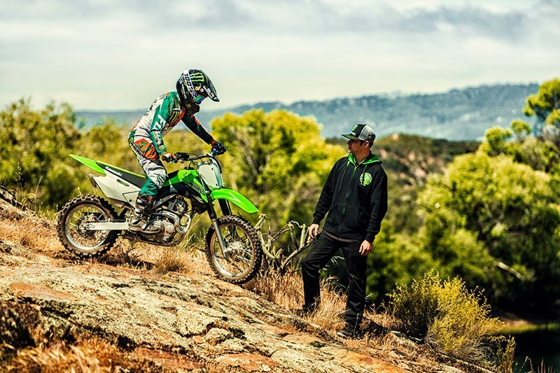 2018 Kawasaki KLX 140 in Yuba City, California