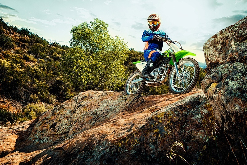 2018 Kawasaki KLX 140G in Ukiah, California