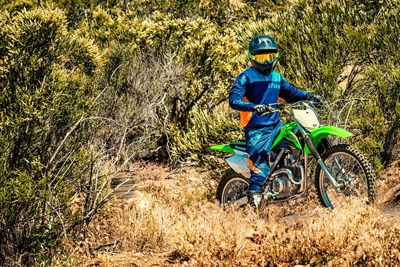 2018 Kawasaki KLX 140G in Yuba City, California