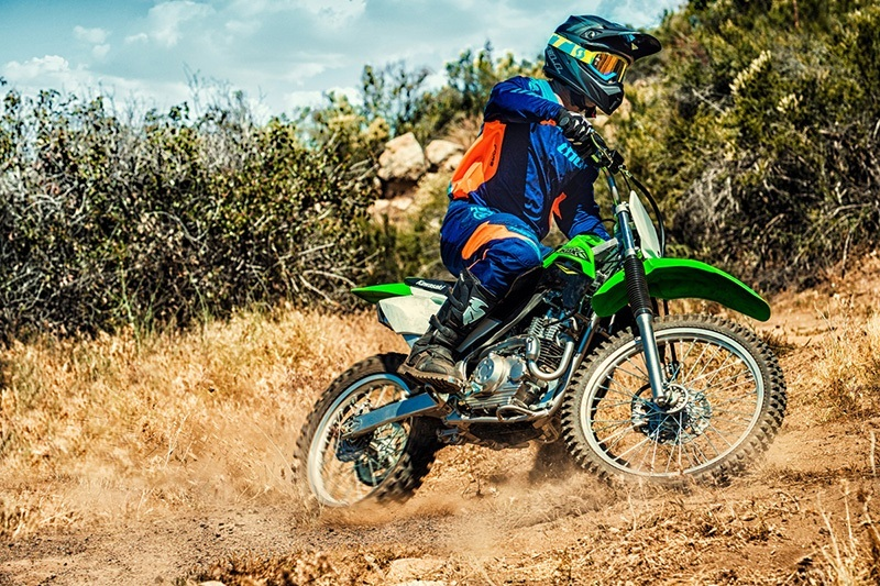 2018 Kawasaki KLX 140G in Hollister, California
