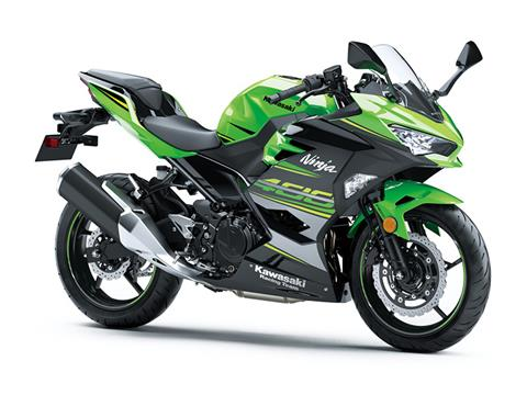 2018 Kawasaki Ninja 400 KRT Edition in Freeport, Illinois