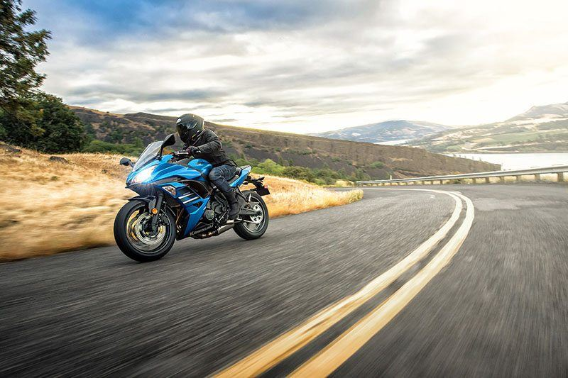 2018 Kawasaki Ninja 650 ABS in Ukiah, California