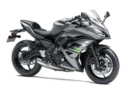 2018 Kawasaki Ninja 650 ABS in Waterbury, Connecticut