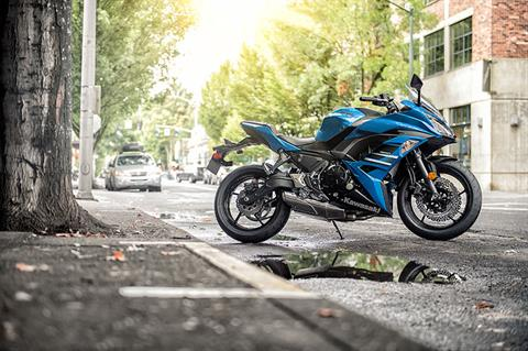 2018 Kawasaki Ninja 650 ABS in Port Angeles, Washington