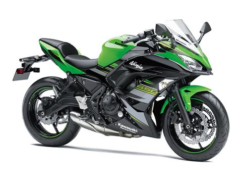 2018 Kawasaki Ninja 650 ABS KRT Edition in Logan, Utah
