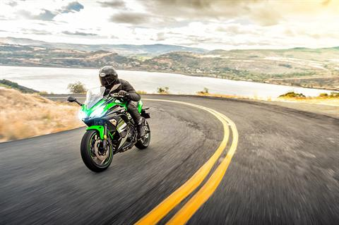 2018 Kawasaki Ninja 650 ABS KRT Edition in Freeport, Illinois