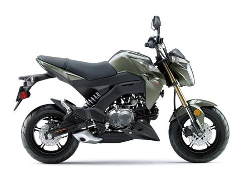 2018 Kawasaki Z125 Pro in Redding, California