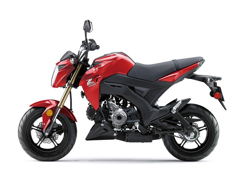 2018 Kawasaki Z125 Pro in Orange, California