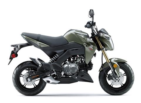2018 Kawasaki Z125 Pro in San Jose, California