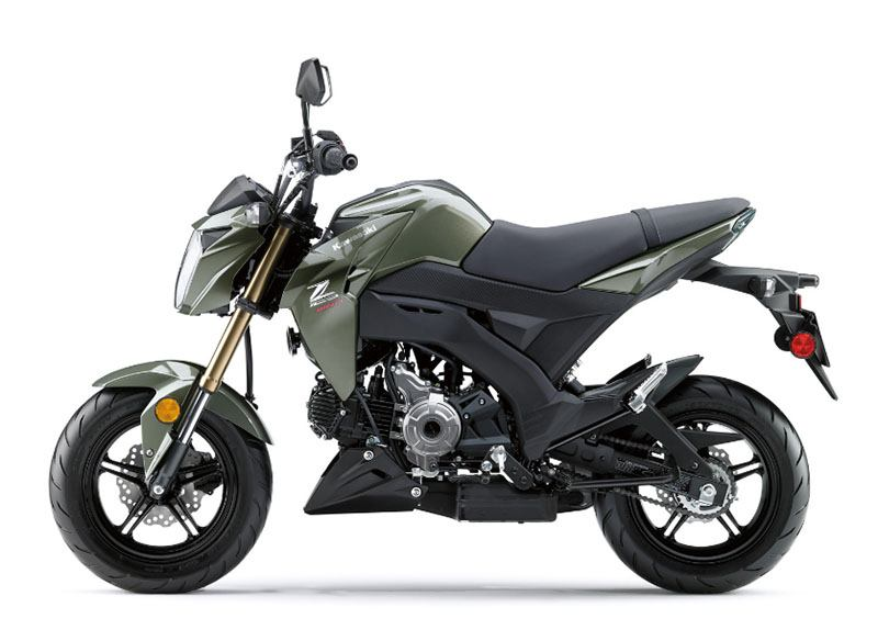 2018 Kawasaki Z125 Pro in Greenville, South Carolina