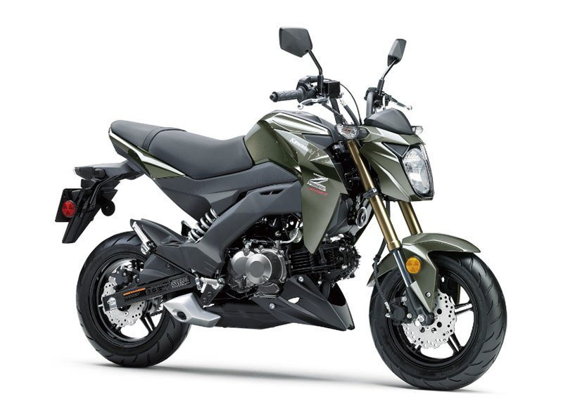 2018 Kawasaki Z125 Pro in Johnson City, Tennessee