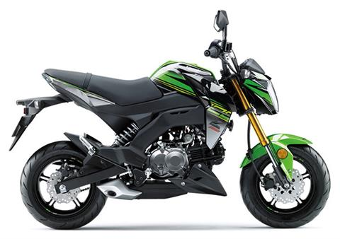 2018 Kawasaki Z125 Pro KRT Edition in Wilkes Barre, Pennsylvania