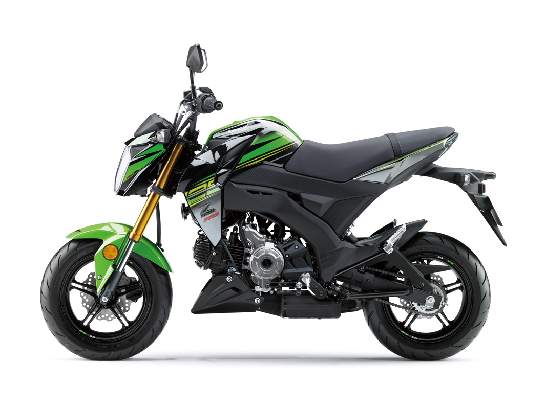 2018 Kawasaki Z125 Pro KRT Edition in Petersburg, West Virginia