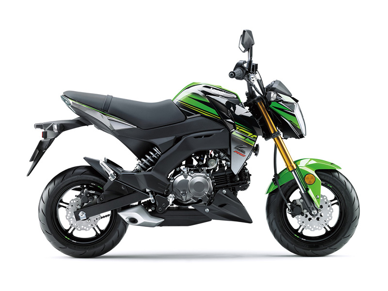 2018 Kawasaki Z125 Pro KRT Edition in West Monroe, Louisiana