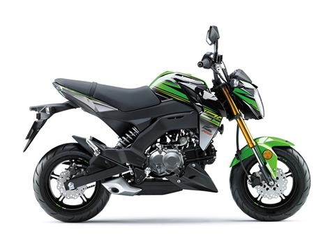 2018 Kawasaki Z125 Pro KRT Edition in Canton, Ohio