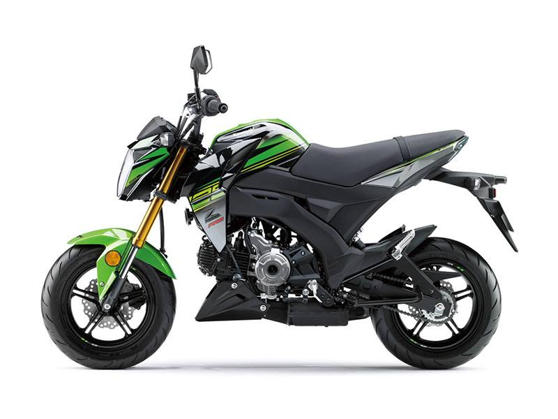 2018 Kawasaki Z125 Pro KRT Edition in Howell, Michigan