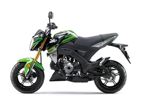 2018 Kawasaki Z125 Pro KRT Edition in Albemarle, North Carolina