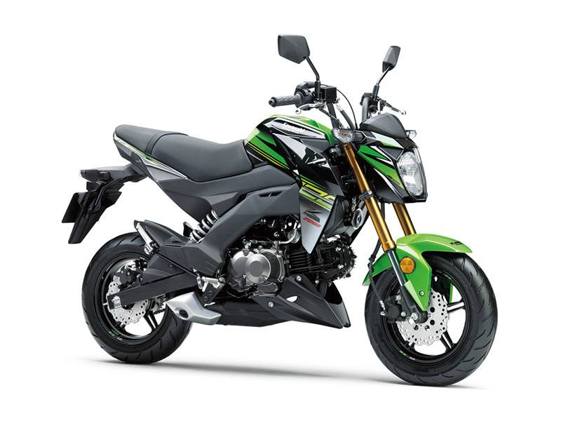 2018 Kawasaki Z125 Pro KRT Edition in Asheville, North Carolina