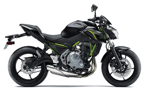 2018 Kawasaki Z650 in Barre, Massachusetts