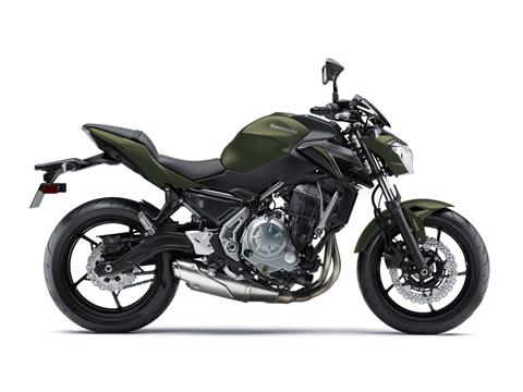 2018 Kawasaki Z650 in Jamestown, New York