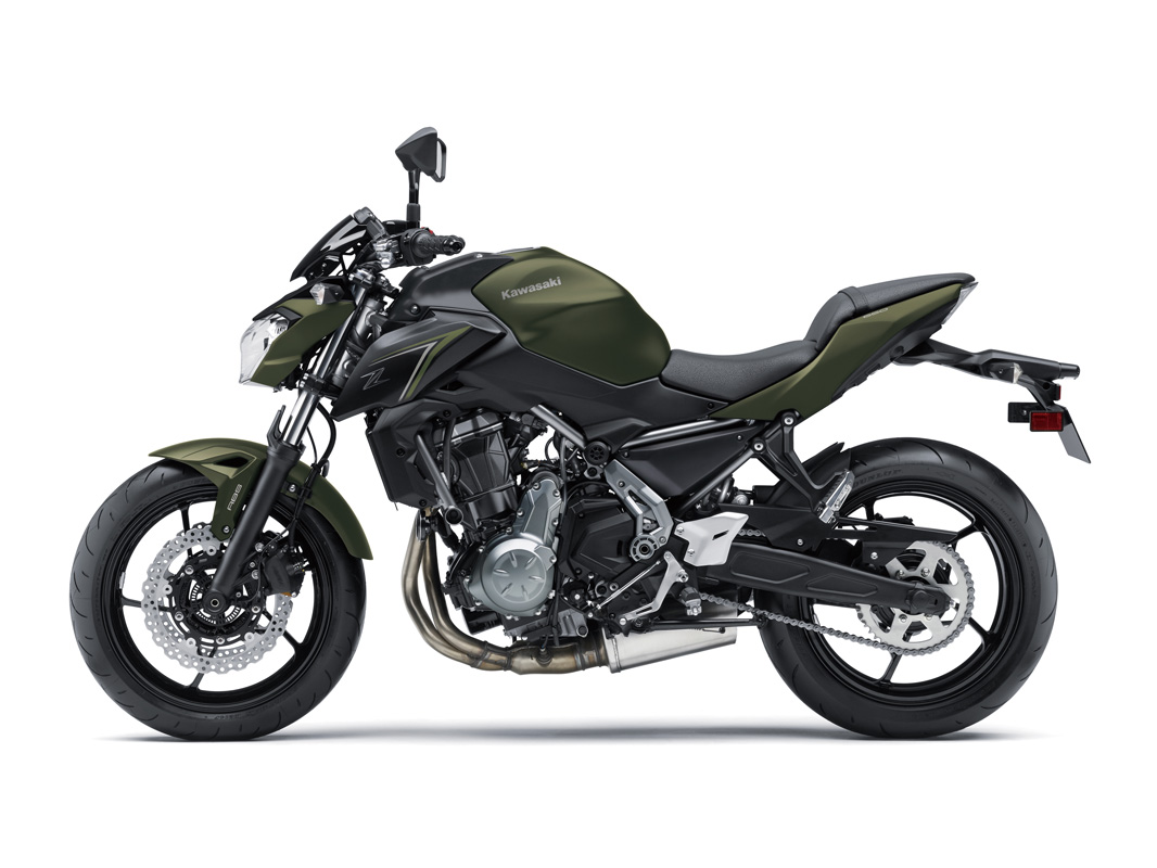 2018 Kawasaki Z650 in Canton, Ohio