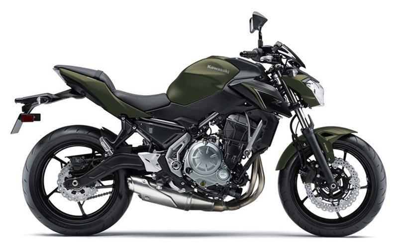 2018 Kawasaki Z650 in Littleton, New Hampshire