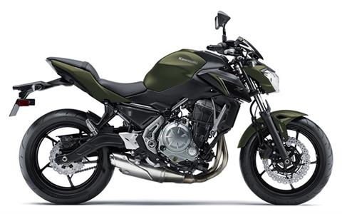 2018 Kawasaki Z650 ABS in Wilkes Barre, Pennsylvania