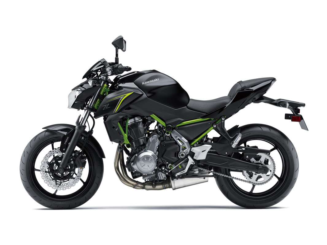 2018 Kawasaki Z650 ABS in Huron, Ohio
