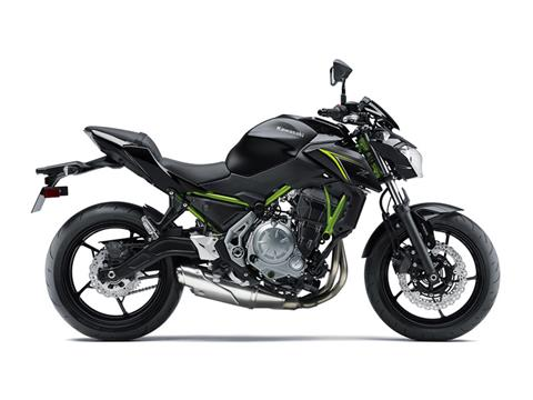 2018 Kawasaki Z650 ABS in Canton, Ohio