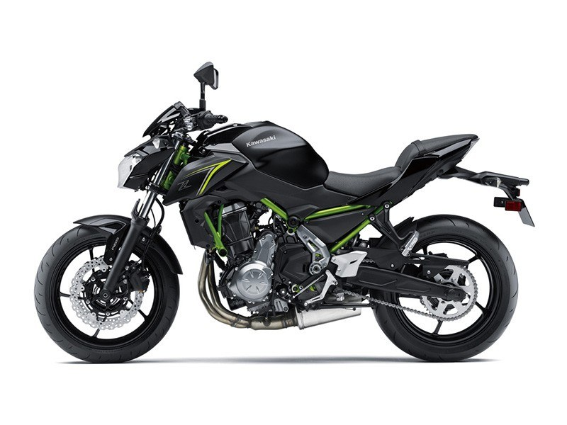 2018 Kawasaki Z650 ABS in Stuart, Florida