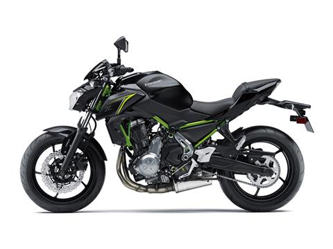 2018 Kawasaki Z650 ABS in Asheville, North Carolina