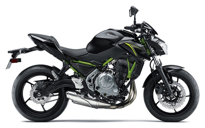 2018 Kawasaki Z650 ABS in Fairfield, Illinois