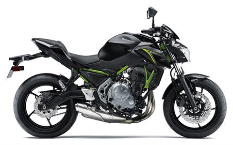 2018 Kawasaki Z650 ABS in Greenville, North Carolina