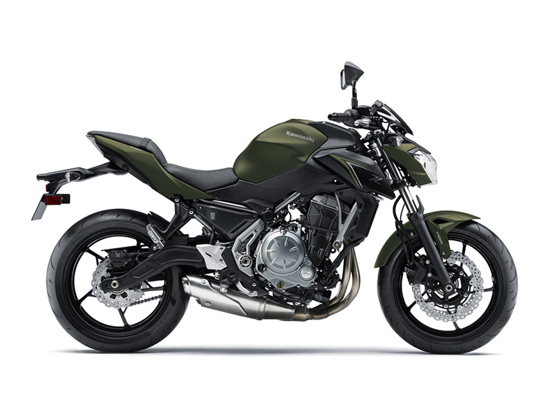 2018 Kawasaki Z650 ABS in Yuba City, California