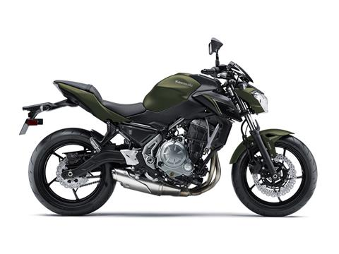 2018 Kawasaki Z650 ABS in Barre, Massachusetts