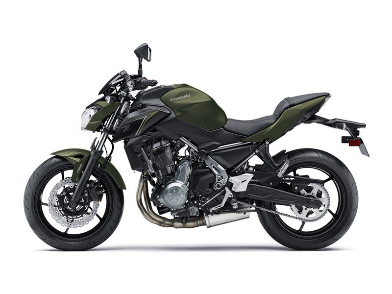 2018 Kawasaki Z650 ABS in Northampton, Massachusetts