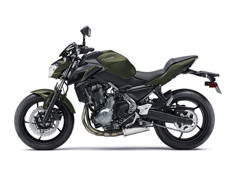 2018 Kawasaki Z650 ABS in Ashland, Kentucky