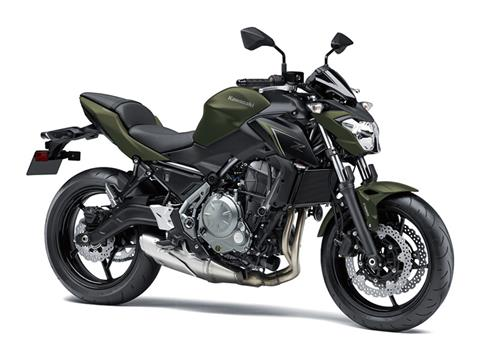 2018 Kawasaki Z650 ABS in Junction City, Kansas