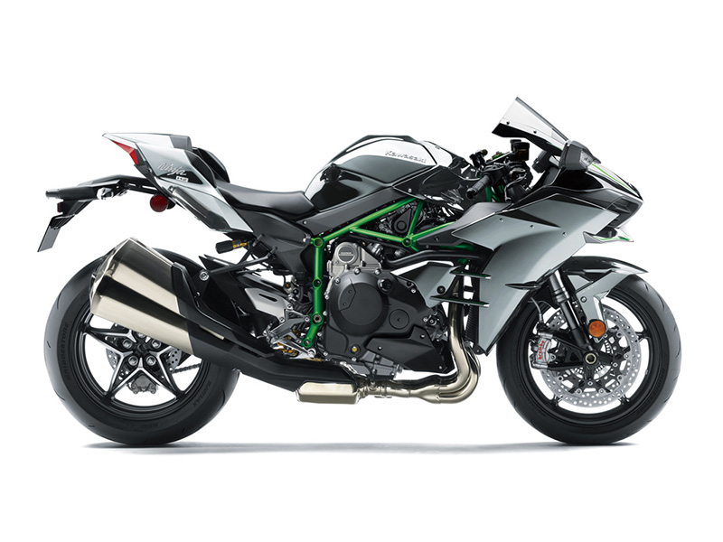 2018 Kawasaki Ninja H2 in Corona, California