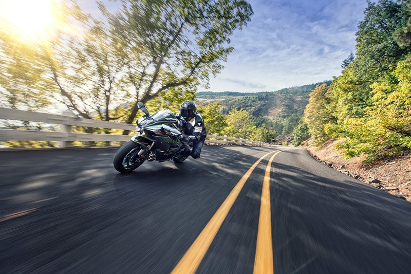 2018 Kawasaki Ninja H2 Carbon in South Haven, Michigan
