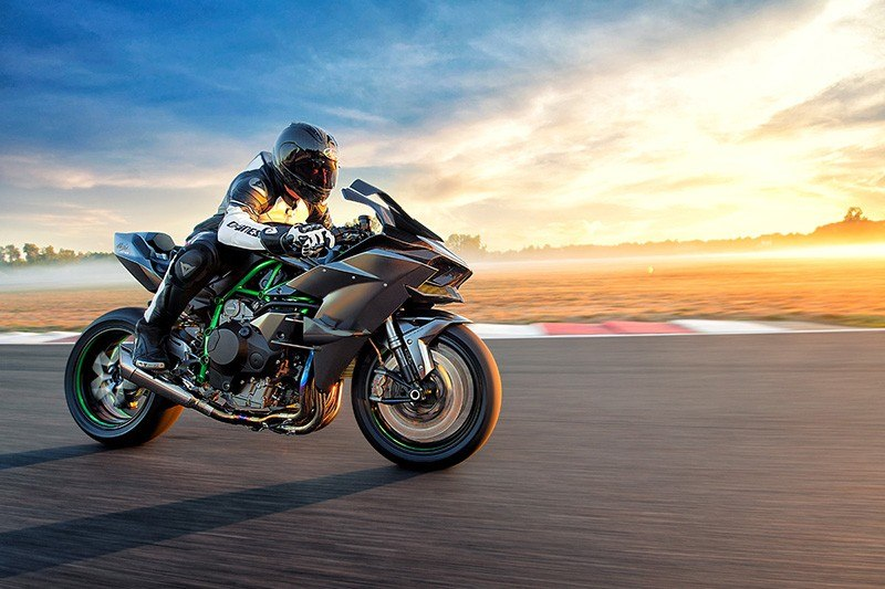 2018 Kawasaki Ninja H2 R in Northampton, Massachusetts
