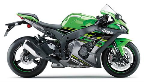 2018 Kawasaki NINJA ZX-10R KRT EDITION in Freeport, Illinois