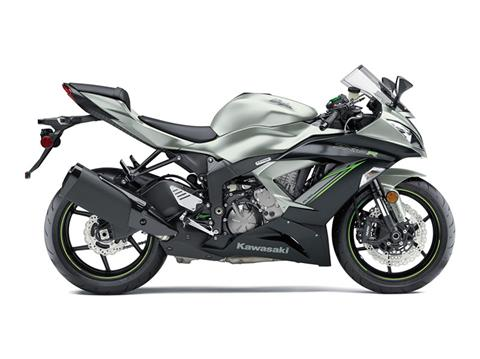 2018 Kawasaki NINJA ZX-6R in Redding, California