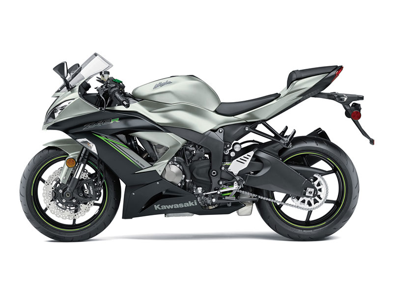 2018 Kawasaki NINJA ZX-6R in Petersburg, West Virginia