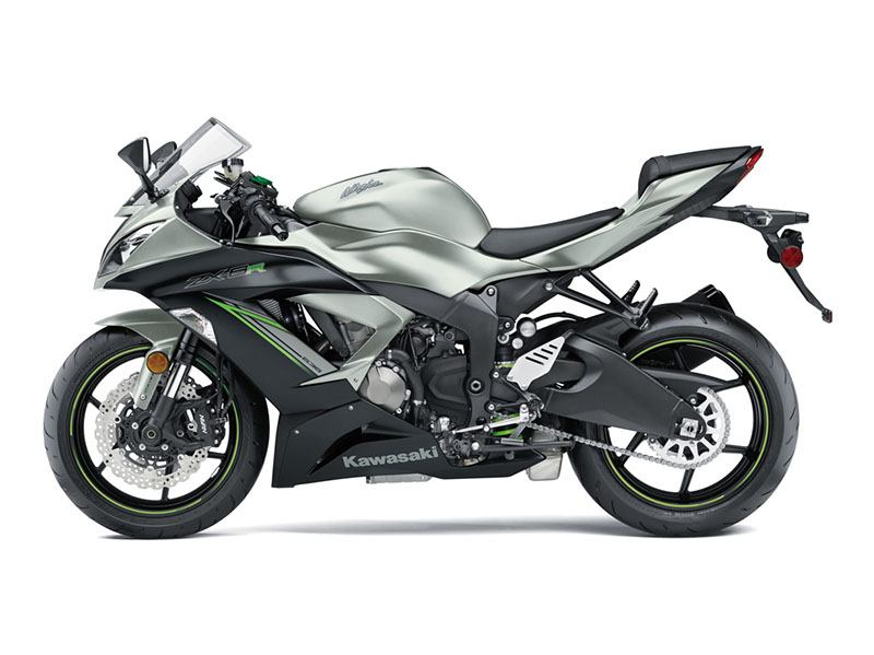 2018 Kawasaki NINJA ZX-6R in South Paris, Maine