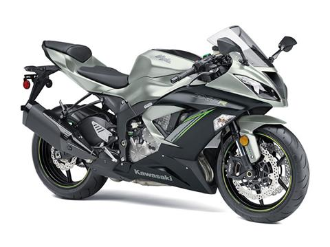 2018 Kawasaki NINJA ZX-6R ABS in Junction City, Kansas
