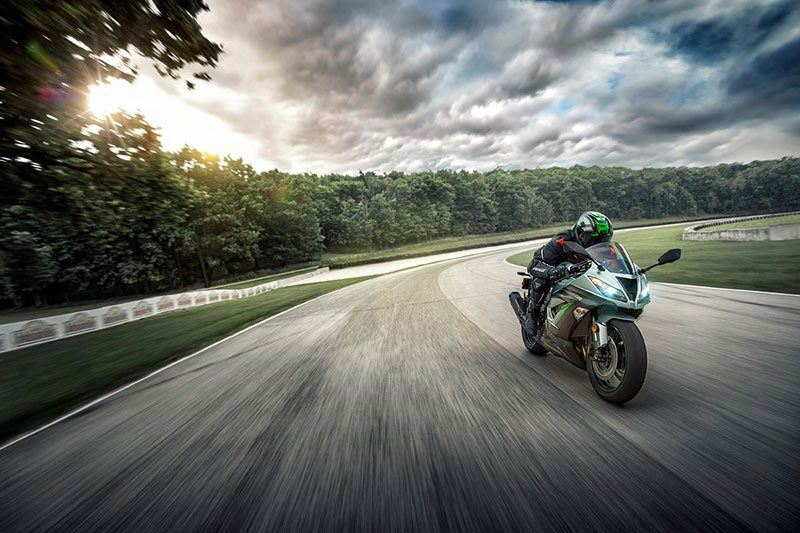2018 Kawasaki NINJA ZX-6R ABS in Fairfield, Illinois