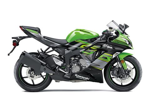 2018 Kawasaki NINJA ZX-6R ABS KRT EDITION in Redding, California