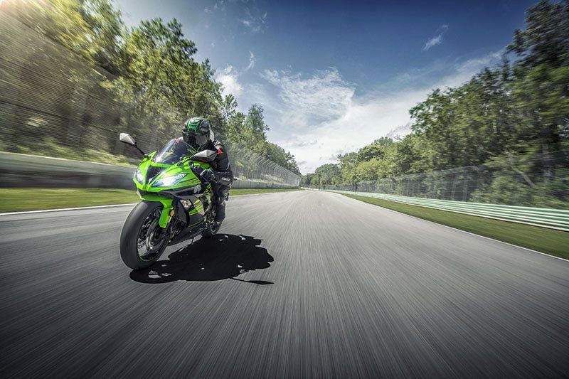 2018 Kawasaki NINJA ZX-6R ABS KRT EDITION in Baldwin, Michigan